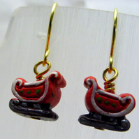 Sleigh Drop Earrings