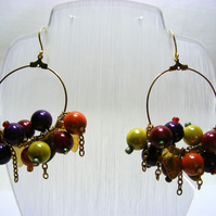 Fruity Berry Earrings