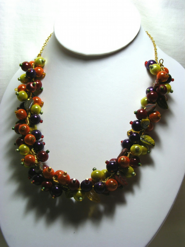 Fruity Berry Necklace