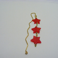 Red Star Bookmark