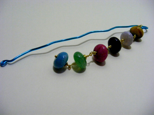 Agate Chain Bookmark
