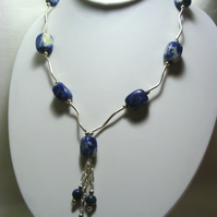 Chunky Sodalite Necklace