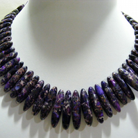 Purple Jasper Necklace