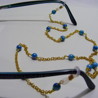 Blue Shell Spectacle Chain.