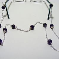Amethyst spectacle Chain.