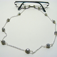 Labradorite Gemstone Spectacle Chain
