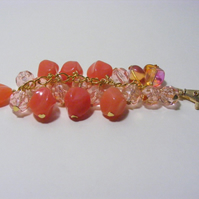 Orange  Chunky Bag Charms