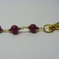 Red Jade Gemstone Bag Charm
