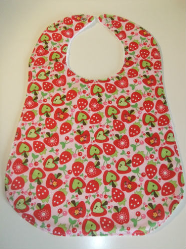 Girls Toddler Bib
