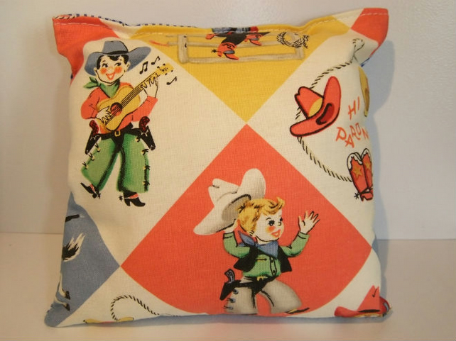 Boys Tooth Fairy Cushion