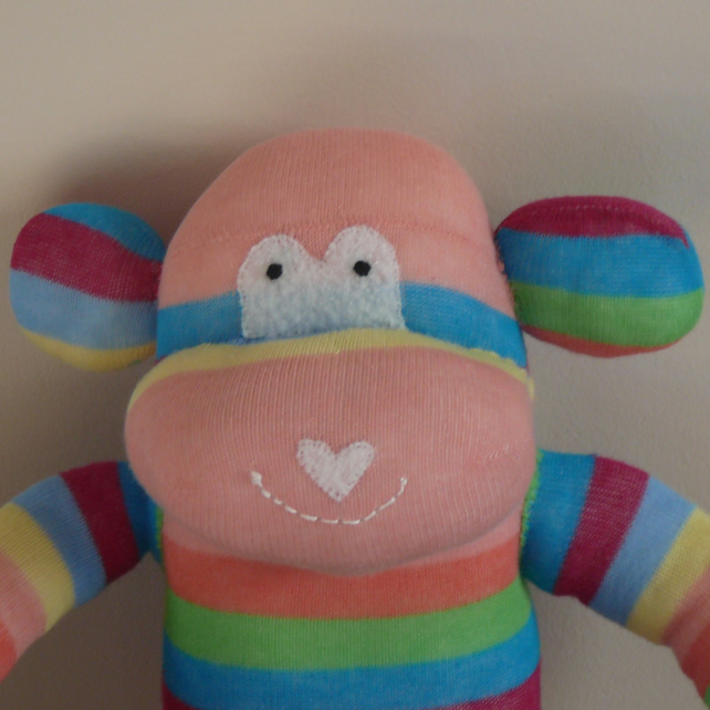 Sock Monkey - Bertha