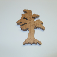 tree fridge magnet