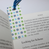 Sale: Surf flower repeat bookmark