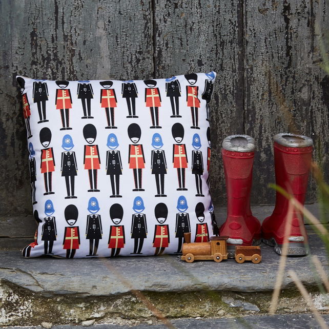 Soldier and Guardsman cushion