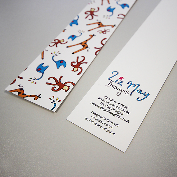 Bookmark - animals ahoy