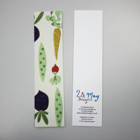 Bookmark - vegetable design