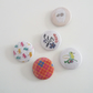 Pin badge selection pack of 5
