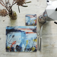 Set of 4 Artist Printed Placemats