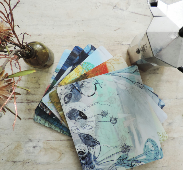 Artist Printed Placemats - Set of 6