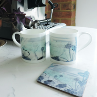 Bone China Art Print Mug