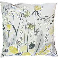 Embroidered Cushion - 'Shoreline' Print