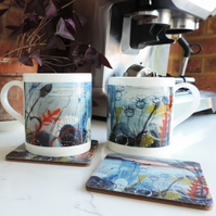 Bone China Art Print Mug - Evening Light