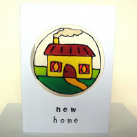 New Home card, FREE P&P