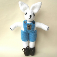 *SALE* Hector Rabbit Knitted toy (was £15)