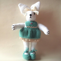 *SALE* Hester Rabbit knitted toy (was £15)