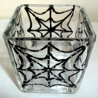 Halloween candle holder, FREE P&P