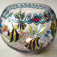 Glass Fish Bowl, FREE P&P