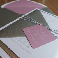 Wedding Invitation Suite - Elle Wedding Range