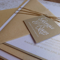 Wedding Invitation Suite - Grace Wedding Range - Wedding Invite