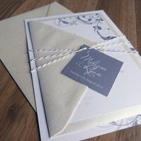 Wedding Invitation Suite - Eve Wedding Range - Wedding Invite
