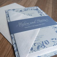 Wedding Invitation Suite - Bliss Wedding Range