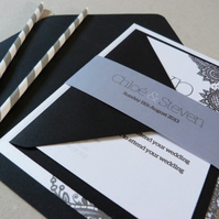 Wedding Invitation Suite - Bella Wedding Range - Wedding Invite