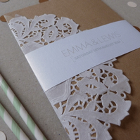 Pocketfold Wedding Invitation Suite - Love Wedding Range