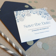Save the Date Card - Eden Wedding Range