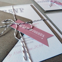 Wedding Invitation Suite - Beau & Arrow Wedding Range - Wedding Invite