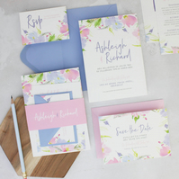 Wedding Invitation Suite - Eden Wedding Range - Wedding Invite