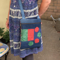 Cross-body Festival Patchwork Bag