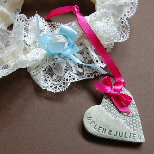 Personalised Wedding favours in ceramic