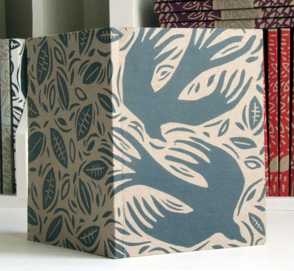 Crows Notebook, handprinted