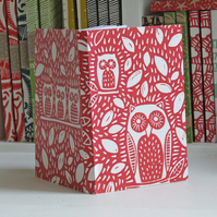 Owl Chunky Eco Notebook