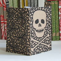 Chunky Eco Notebook - Skull and Crossbones