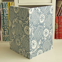 Poppytops linocut Journal, Free UK Shipping