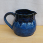 Pint jug or pitcher hand thrown in stoneware pottery ceramic