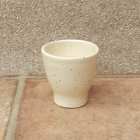 Duck sized egg cup wheelthrown pottery