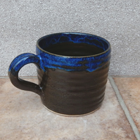 Coffee mug tea cup wheel thrown stoneware pottery ceramic handmade