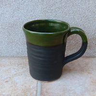 Coffee mug tea cup hand thrown stoneware pottery ceramic wheelthrown handmade